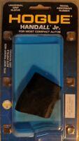 Hogue Handall Jr Universal Rubber Grip Sleeve Small Compact Pistols* Black 18000