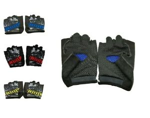 Sport Gloves Fingerless Mountain Cycling MTB Bike Bicycle Riding BMX