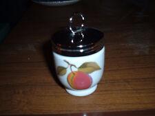 Royal Worcester Fruit Design Peach & Berries Small Egg Coddler