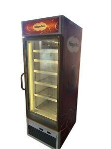 ISA Commercial Display Freezer, Single Glass Door Upright Ice Cream Freezer