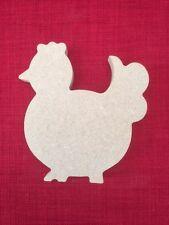Chicken / Mother Hen Free standing Wooden MDF shape blank