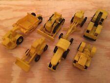 Lot Of 7 UMEX DBGM Heavy Equipment Construction Vehicles Motor Grader Scraper