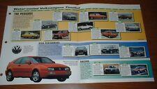★★1971-99 HISTORY OF THE VOLKSWAGEN BROCHURE VW 71-99 GOLF GTI FOX SCIROCCO★★