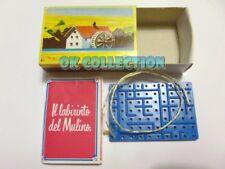 MULINO BIANCO scatolina anni '80_ IL LABIRINTO DEL MULINO (sorpresina 54)