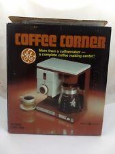 NEW Vintage GE COFFEE Corner MAKER DCM20 NOS Open Box GLASS CARAFE Warmer PROP