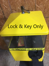 Lock and Key for U-turn Gumball Candy Bulk Vending Machines U Turn Eliminator