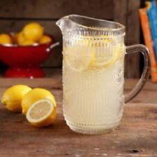 The Pioneer Woman Adeline 1.6 Quarts Glass Ice Tea Water Pitcher Bar Drinkware