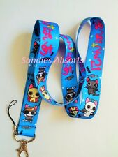 Spooky Cats Lanyard Neck Strap - Mobile Phone / ID / MP3 / Keys / Whistle