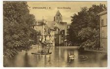 AK Strasbourg, Strassburg, Klein-Venedig, 1910