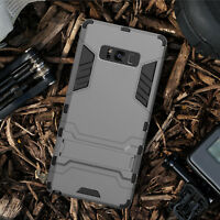 Military Grade Rugged Cover Armor Case KICKSTAND For Samsung Galaxy Note 9 8 S9