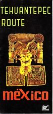 Tehuantepec Route Mexico Mexican Govt Tourist Dept Vintage Brochure