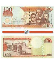 Dominican Republic 100 Pesos 2003 Unc Pn 171c