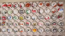 50 Advertising & Cartoon Logo 1 Inch Marbles Great For Collecting / Resale lot D