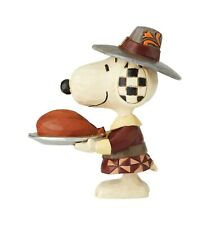 Peanuts Thanksgiving - Snoopy as a Pilgrim Jim Shore Mini Figurine 6002779