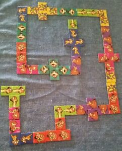 Collectable Mcdonalds Disney Chanel Set Of 28 Dominoes 1990s