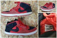 Nike SB Mavrk Mid 3 Red Black 510974-660 Skate Shoes Men Sneakers Athletic Sz 11