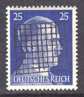 GERMANY 518 OG NH U/M VF SIGNED 1945 LOCAL CHEMNITZ OVERPRINT