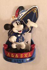 New Disney Cruise Line 2016 Alaska Mickey Mouse Figure Cruise Ship