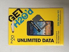 H20 Prepaid Micro Sim Card works with all unlocked phones and At&T phones