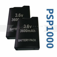 2X 3.6V 3600mah Rechargeable Replace Battery for Sony PSP-110 PSP-1001 PSP 1000