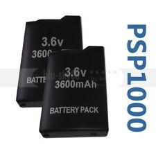 2X battery for PSP 1000 1004 FAT GORDA 3600 mAh BATTERY 1001 1002 1003