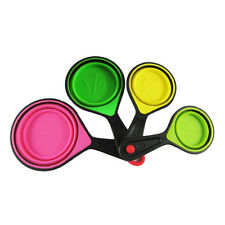Collapsible Measuring Spoons Kitchen Tool Utensils Cups Cooking Accessories