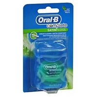 Oral-B Complete Satin Floss Mint 55 Yards each