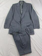 Vtg 70s 2 Pc Polyester Suit Jacket & Pants Mod Nice Pattern Union Made Disco