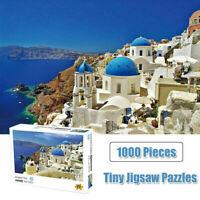 Dream Castle Jigsaw Puzzles Kids Adult Assembling Educational Toys 1000 Pieces