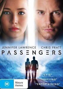 PASSENGERS New Dvd JENNIFER LAWRENCE CHRIS PRATT ***
