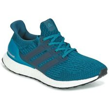 Adidas Ultra Boost 3.0 Hombres Zapatos para Correr-Azul UK 8 EU 42 LN37 93