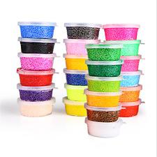 Soft Polymer Foam Modelling Clay Set Snow Pearl Mud Plasticine Toys FINE