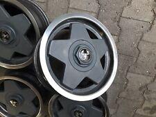 Felgen Alufelgen Borbet A 5,5x13 ET30 4x98 Oldtimer Fiat Abarth Rand Poliert