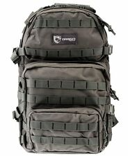 """Drago Gear Assault Backpack Seal Grey 20"""" x 15"""" x 13"""" 14-302GY"""