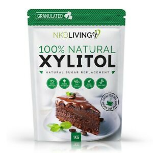 Xylitol Natural Sugar Alternative by NKD Living | Non-GMO Certified  UK BRAND