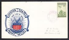 Amphibious Transport USS RANDALL APA-224 1946 Patriotic Naval Cover