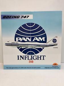 Inflight 1:200 Pan Am BOEING 747-100 N725PA IF741PA0121P Clipper Mandarin