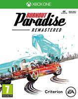 NEW & SEALED! Burnout Paradise Remastered Microsoft XBox One Game