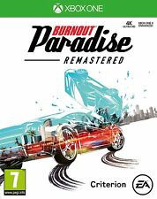 NEW & SEALED! Burnout Paradise Remastered Microsoft XBox One Game