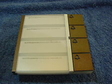 SSS Siedle BTM 611. 4 Klingel Modul  Braun Metallic Tür Haus Sprechanlage (17)