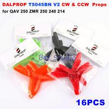 """16PCS 5"""" 5045 DALPROP T5045BN V2 Bullnose Propellers CW CCW Tri Props FPV Racing"""