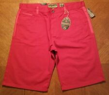 NWT $50.00 Evolution Mens Red Jean Shorts Size 36 ..............#N