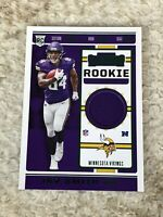 2019 Contenders Jersey Non Auto Irv Smith Jr. RC VIKINGS