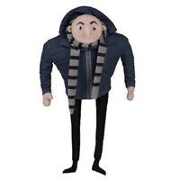 """Despicable Me Minion Mayhem Gru Plush Soft Stuffed Doll Toy 18"""" 45 cm tall"""
