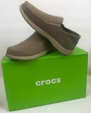 Crocs Santa Cruz Convertible Slip On Khaki/Cobblestone Various Sizes Brand NEW