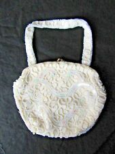 EPIC Antique  Handmade Beaded Walborg Purse Made In Belgium Early 1900's