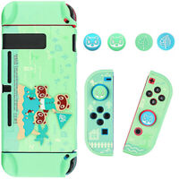 Hard Protective Case Thumb Grip For Nintendo Switch Console Joy-Con Controller