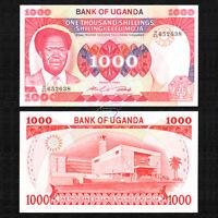 UGANDA 1,000 1000 Shillings, 1983, P-23, UNC