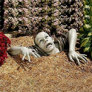 Sculpture Zombie Shape Vivid Garden Ornament Mug Funny Garden