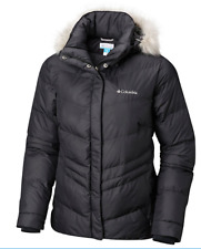 Columbia Women's Peak to Park Insulated Hooded Winter Jacket NWT Black L XL